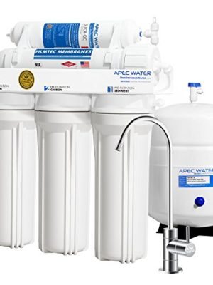 APEC Water Systems RO-90 Ultimate Series Top Tier Supreme Certified High Output 90 GPD Ultra Safe Reverse Osmosis…