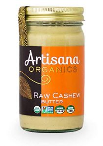 Artisana Organics Non GMO Raw Cashew Butter, 14 oz | No Sugar Added | Paleo and Whole30 Compliant