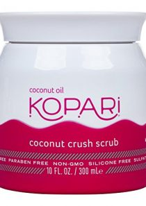 Kopari Coconut Crush Scrub – Brown Sugar Scrub to Exfoliate, Shrink the Appearance of Pores, Help Undo Dark & Age Spots…