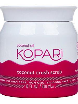 Kopari Coconut Crush Scrub – Brown Sugar Scrub to Exfoliate, Shrink the Appearance of Pores, Help Undo Dark & Age Spots…