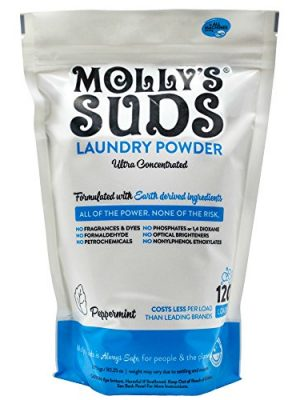 Molly's Suds Original Laundry Detergent Powder   Natural Laundry Detergent for Sensitive Skin   Earth-Derived…