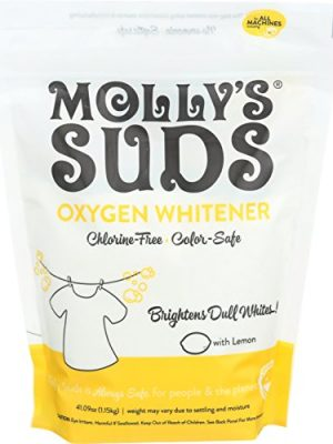 Molly's Suds Natural Oxygen Whitener   Natural Bleach Alternative, Plant-Derived Ingredients   Whitens Brights and…