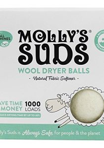 Molly's Suds – Wool Dryer Balls – 9.04 oz.
