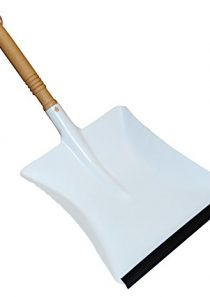 Redecker Dustpan with Oiled Beechwood Handle, 17-3/4-Inches