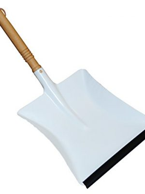 Redecker Dustpan with Beechwood Handle, 17-3/4-Inches