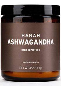 HANAH Ashwagandha+ Powder Herbal Supplement, 4 Oz