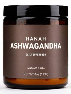 Hanah Ashwagandha+   Pure Root Powder, with Cows Milk for Maximum Absorbency   Stress Relief, Strength, Longevity   4…