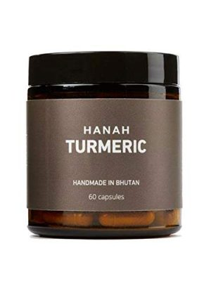 Hanah Turmeric+ with Black Pepper  Antioxidant, Digestive Support, Anti-inflamatory   60 Capsules