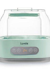 Luvele Pure Plus Yogurt Maker 2.1qt Glass Container SCD & GAPS Diet Friendly Yoghurt Maker 24 hour