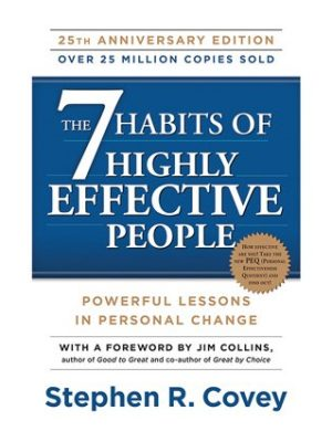 FranklinCovey The 7 Habits of Highly Effective People 25th Anniversary Paperback Book