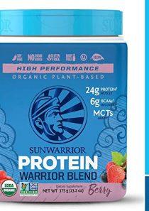 Warrior Blend Organic NonGMO PlantBased Vegan Protein Chocolate (15 Servings)