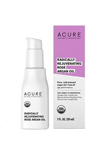 ACURE Radically Rejuvenating Rose Argan Oil | 100% Vegan | Provides Anti-Aging Support | Pure, Cold Pressed & Rich in…