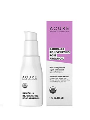 ACURE Radically Rejuvenating Rose Argan Oil   100% Vegan   Provides Anti-Aging Support   Pure, Cold Pressed & Rich in…