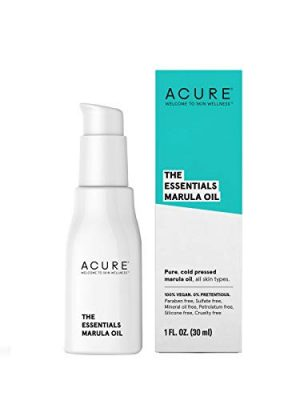 Acure The Essentials Marula for Dry Skin & Hair Oil, 1 Fl Oz