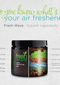 Fresh Wave Odor Removing Gel Refill, 3 lbs. 15 oz. (63 oz.) (Pack of 2)