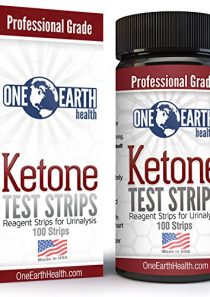 Ketone Strips 100 Count (USA Made): Accurate Results for Ketogenic Diet and Ketone Measurement.