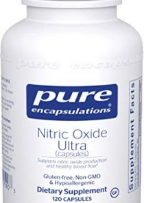 Pure Encapsulations – Nitric Oxide Ultra (Capsules) – Hypoallergenic Supplement Supports Nitric Oxide Production and…
