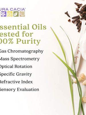 Aura Cacia 100% Pure Bergamot Essential Oil | GC/MS Tested for Purity | 15 ml (0.5 fl. oz.) | Citrus bergamia