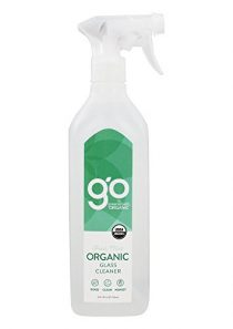 GO by greenshield organic, USDA Certified Organic 26 oz. Glass Cleaner- Fresh Mint