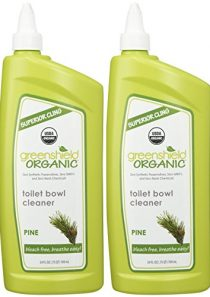 GreenShield Organic USDA Certified Organic Toilet Bowl Cleaner, Pine Scent, 24 Ounce (Pack of 2)
