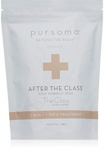 Pursoma After The Class Post-Workout Bath Soak Treatment with French Grey Sea Salt and Magnesium   Post Workout Soak for…