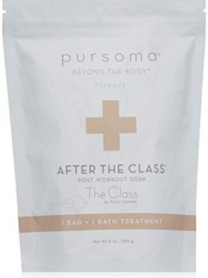 Pursoma After The Class Muscle Recovery Bath Soak and Post Workout Bath Salts for Pain Relief with Sea Salt, Magnesium…