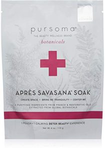 Pursoma Après Savasana Bath Soak with Purifying Ingredients and Restorative Oils   Post Workout Soak for Sore Muscle…