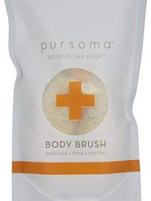 Pursoma Detox Beauty Body Brush Made of Ethically Harvested Jute Fiber, Vegan Dry Brush for Cellulite and Lymphatic…