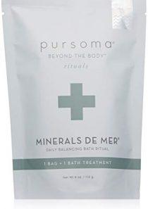 Pursoma Minerals De Mer Detox Bath Soak with French Grey Sea Salt and Organic Green & Brown Seaweed   Therapeutic…