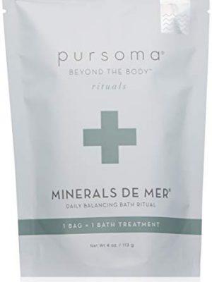 Pursoma Minerals De Mer Bath Treatment, 4 oz