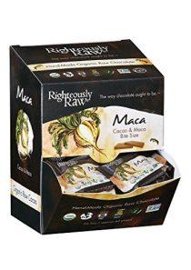 Righteously Raw Chocolate Bites – Maca Bites, RAW Organic, Vegan, Kosher, Gluten-Free, Non-GMO, Dairy & Soy Free, No…