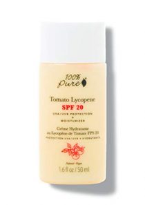 100% PURE Tomato Lycopene SPF 20 Moisturizer, Zinc Oxide Sunscreen, Moisturizer for Face with SPF, Daily Sunscreen…