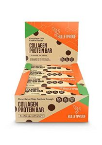 Bulletproof Collagen Protein Bars, Healthy Snacks for Keto Diet, Made with MCT Oil, Gluten Free, for Men, Women, and…