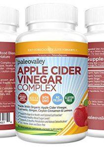 Paleovalley: Apple Cider Vinegar Complex – Digestive Support – 90 Capsules – Organic Ingredients – Help Stabilize Blood…