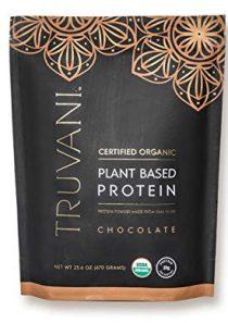 TRUVANI – Plant Based Protein Powder – USDA Certified Organic Protein Powder, Vegan, Non-GMO, Gluten Free Protein Powder…