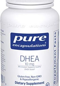 Pure Encapsulations – DHEA 5 mg – Micronized Hypoallergenic Supplement to Support Healthy DHEA Levels – 60 Capsules