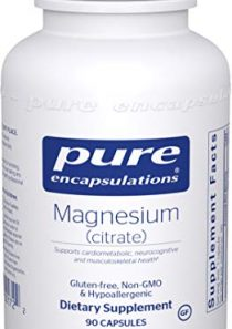 Pure Encapsulations – Magnesium (Citrate) – Hypoallergenic Supplement Supports Nutrient Utilization and Physiological…