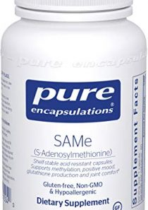 Pure Encapsulations – Same (S-Adenosylmethionine) – Hypoallergenic Supplement to Support Positive Mood and Cognitive…