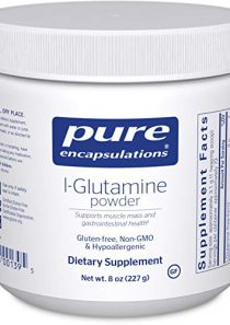 Pure Encapsulations l-Glutamine Powder   Supplement for Immune and Digestive Support, Gut Health and Lining Repair…