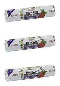 Quantum – Lozenge Zinc Elderberry – 14 Lozenges (Pack of 3)