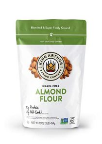 King Arthur, Almond Flour, Certified Gluten-Free, Non-GMO Project Verified, Certified Kosher, Finely Ground, 16 Ounces…