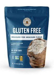 King Arthur, Measure for Measure Flour, Certified Gluten-Free, Non-GMO, Certified Kosher, Non-Dairy, 3 Pounds (Packaging…