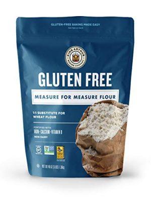 King Arthur, Measure for Measure Flour, Certified Gluten-Free, Non-GMO, Certified Kosher, Non-Dairy, 3 Pounds