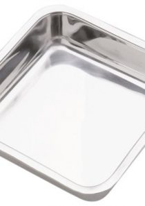 Norpro 8 Inch Stainless Steel Cake Pan, Square