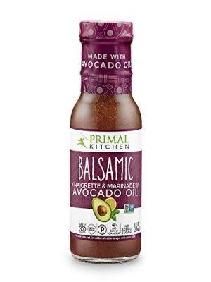 Primal Kitchen – Avocado Oil-Based Dressing and Marinade, Balsamic Vinaigrette, Pack of 1, Whole30 and Paleo Approved