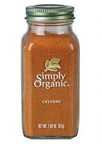 Simply Organic Cayenne Pepper, Certified Organic | 2.89 oz | Capsicum annuum L.