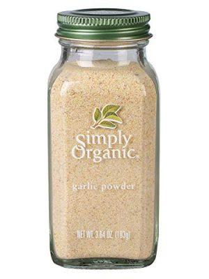Simply Organic Garlic Powder, Certified Organic | 3.64 oz | Allium sativum L.