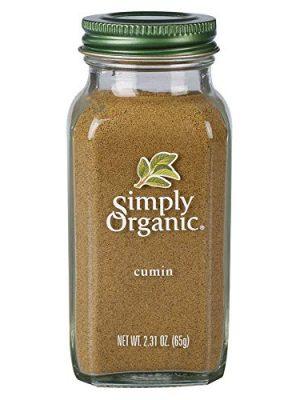 Simply Organic Ground Cumin Seed, Certified Organic | 2.31 oz | Cuminum cyminum L.