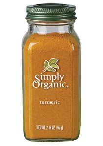 Simply Organic Ground Turmeric Root, Certified Organic | 2.38 oz | Pack of 3 | Curcuma longa L.
