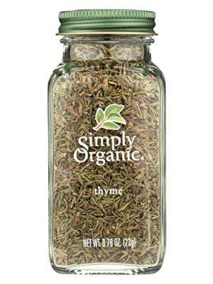 Simply Organic Thyme Leaf – Organic – Whole – Fancy Grade – .78 oz